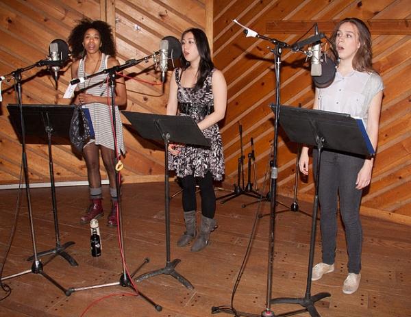 Maya Sharpe, Josephine Huang, and Hannah Whitney Photo
