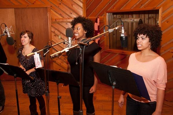 Photo Flash: LA MAMA CANTATA Original Cast Recording