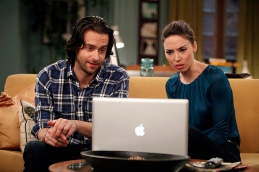 Chris D'Elia & Whitney Cummings at Sneak Peek - Privacy Wars on NBC's WHITNEY Airing 1/11