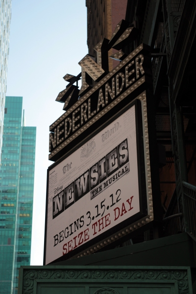 UP ON THE MARQUEE: NEWSIES!