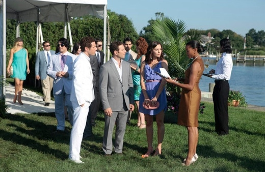 Paulo Costanzo, Mark Feuerstein, Jill Flint & Kearran Giovanni at Sneak Peek - USA Network's ROYAL PAINS Returns 1/18