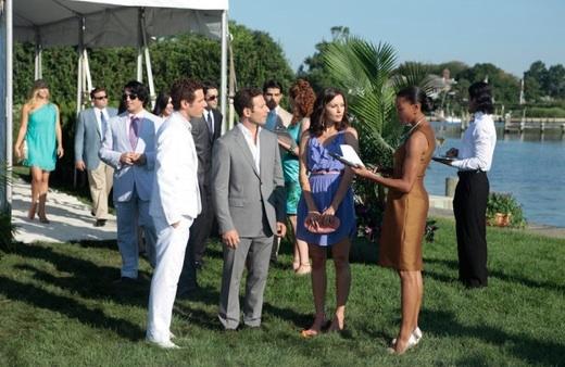 Paulo Costanzo, Mark Feuerstein, Jill Flint & Kearran Giovanni at Sneak Peek - USA Network's ROYAL PAINS Returns 1/18