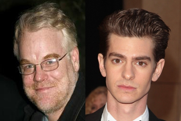 Philip Seymour Hoffman and Andrew Garfield