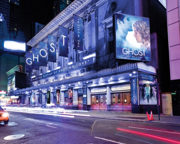 Photo Flash: Sneak Peek at the Planned Marquee for GHOST on Broadway!