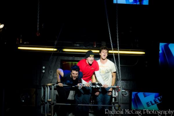 Jake Epstein, Scott J Campbell and Van Hughes