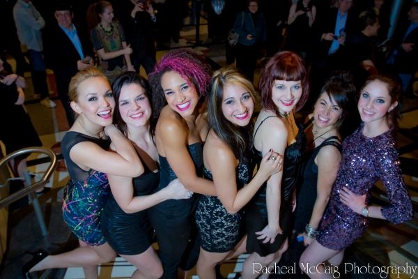 The Ladies of American Idiot: Nicci Claspell, Leslie McDonel, Gabrielle McClinton,  K Photo