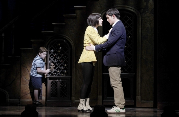 Adam Riegler, Krysta Rodriguez and Wesley Taylor (Broadway)