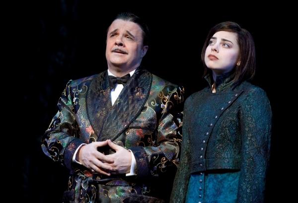 Nathan Lane and Krysta Rodriguez (Broadway)