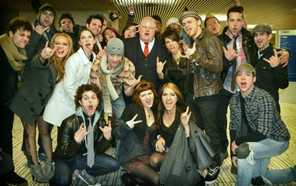 Backstage with Toronto Mayor Rob Ford