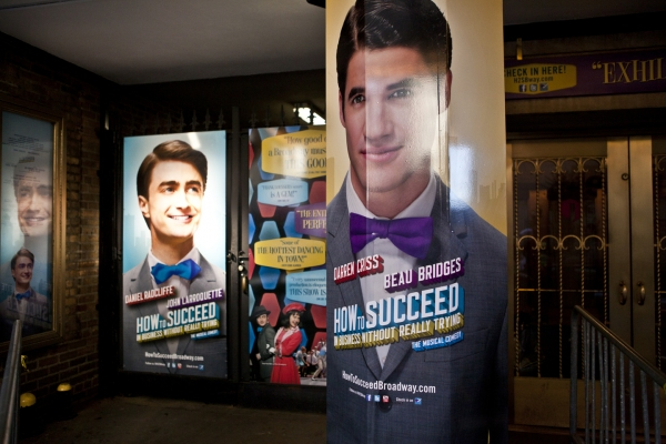 UP ON THE MARQUEE: New HOW TO SUCCEED with Darren Criss & Beau Bridges Going Up!