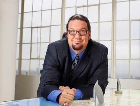 Penn Jillette at First Look - Contestants for NBC's CELEBRITY APPRENTICE Premiering 2/12
