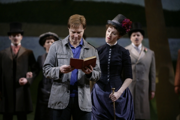 Photo Flash: First Look at Erin Davie & Ron Bohmer in Repertory Theatre of St. Louis' SUNDAY IN THE PARK WITH GEORGE!