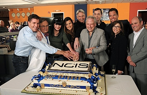Brian Dietzen, David McCallum, Pauley Perrette, Cote de Pablo, Mark Harmon, Gary Glasberg, Sean Murray, Michael Weatherly, Nina Tassler, David Stapf