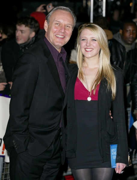 Anthony Head and Emily Head at IRON LADY Premieres in London
