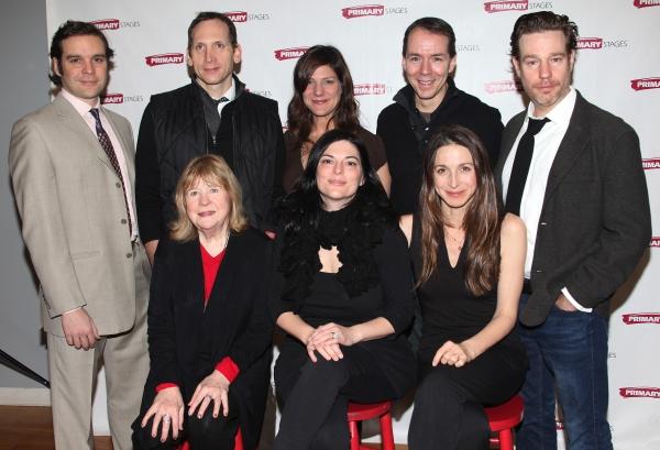 Back Row: Michael Bakkensen, Stephen Kunken, Elizabeth Rich, Paul Niwbanck, Ethan McSweeny Front Row: Marylouise Burke, Kate Fodor & Marin Hinkle