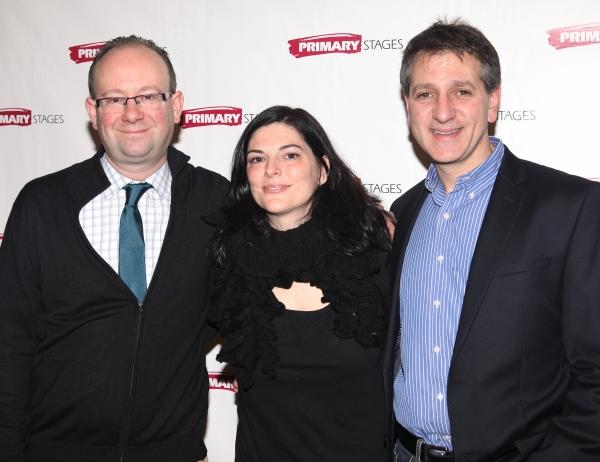 Artistic Director Andrew Leynse, Playwright Kate Fodor & Managing Director Elliot Fox