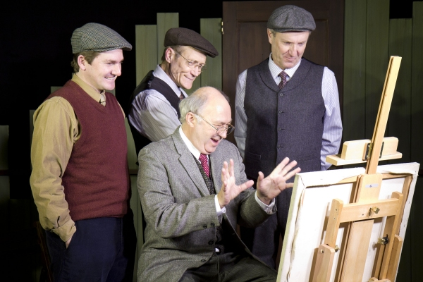 Photo Flash: TheatreWorks' THE PITMAN PAINTERS