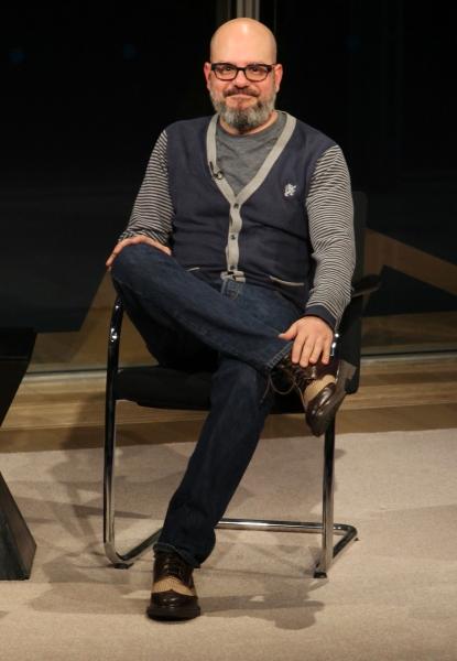 David Cross  at David Cross and Alison Krauss at New York Times Arts & Leisure Weekend