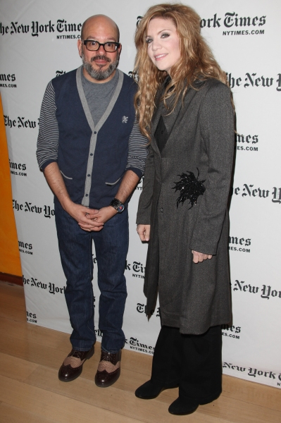 Photo Coverage: David Cross and Alison Krauss at New York Times Arts & Leisure Weekend