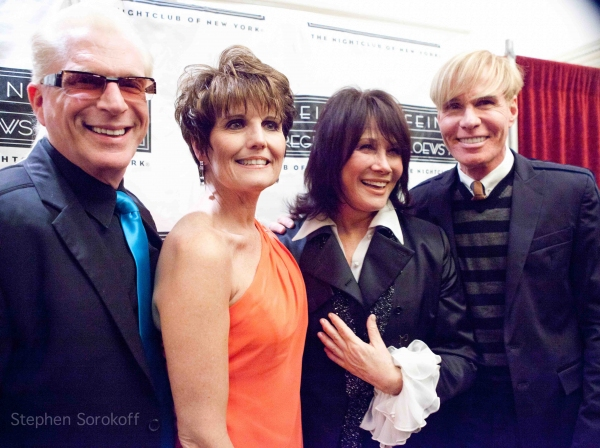 Ron Able, Lucie Arnaz, Michele Lee, Chuck Steffan