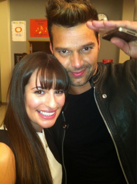 Twitter Watch: Lea Michele on Ricky Martin- 'He's seriously the sweetest'