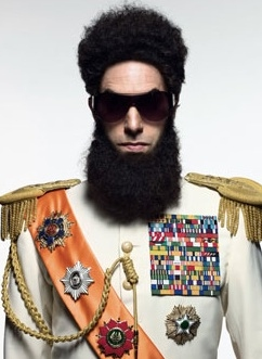 Sacha Baron Cohen at First Look - Sacha Baron Cohen as THE DICTATOR