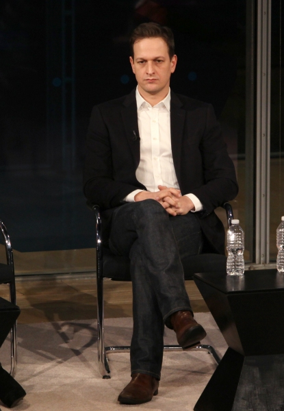 Josh Charles  at 'The Good Wife' Visits New York Times Arts & Leisure Weekend