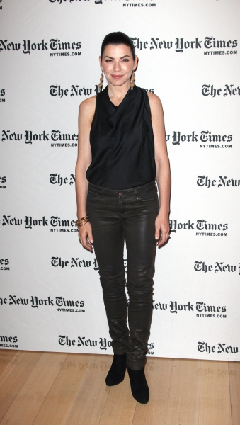 Photo Coverage: 'The Good Wife' Visits New York Times Arts & Leisure Weekend