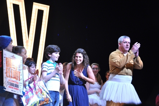 BILLY ELLIOT welcomes its 1,500,000th audience member.
