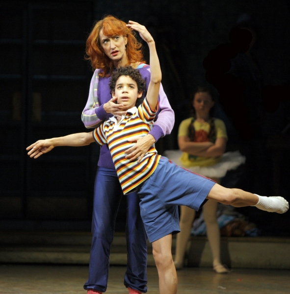 David Alvarez and Haydn Gwynne at Photo Flashback: BILLY ELLIOT Closes After 3 Years on Broadway