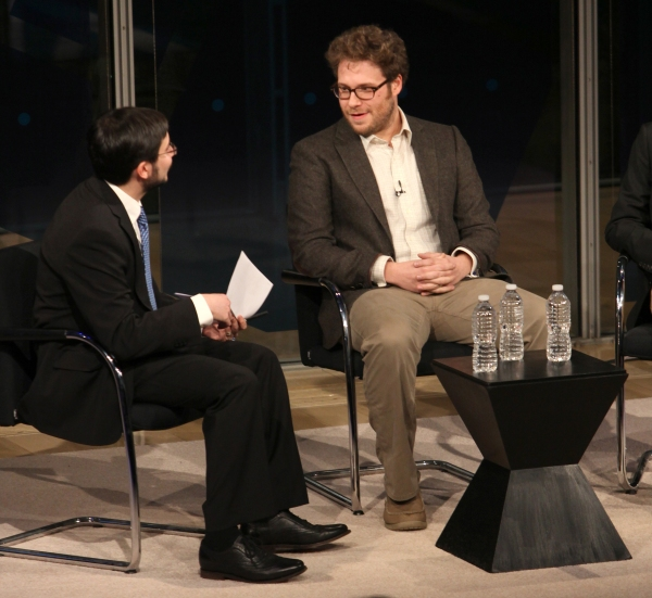 Seth Rogen & Will Reiser, interviewed by Dave Itzkoff Photo