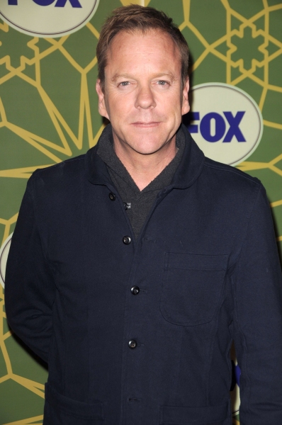 Kiefer Sutherland at GLEE Cast Attends FOX's Winter Press Tour!