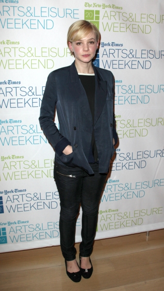 Photo Coverage: Carey Mulligan visit New York Times Arts & Leisure Weekend