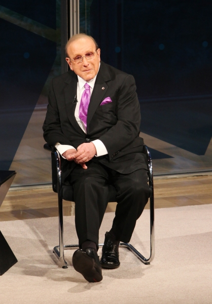 Photo Coverage: Clive Davis Visits New York Times Arts & Leisure Weekend