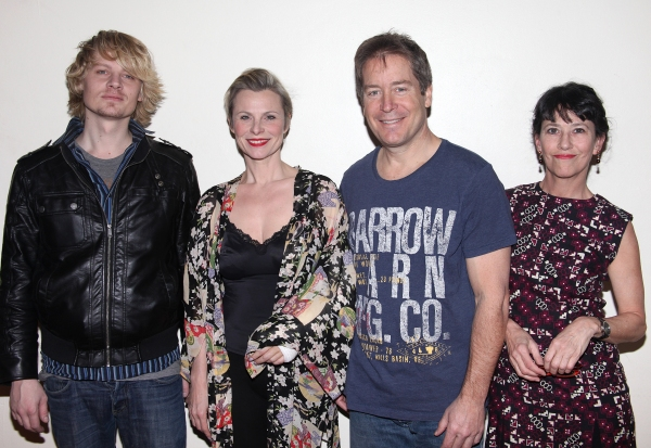 Jeffrey Carlson Angelica Page, Laurence Lau & Jan-Leslie Harding attending the Meet & Greet the cast of 'Psycho Therapy' at Shelter Studios in New York City. 1/9/2012