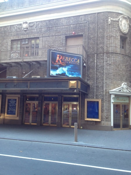 UP ON THE MARQUEE: REBECCA!
