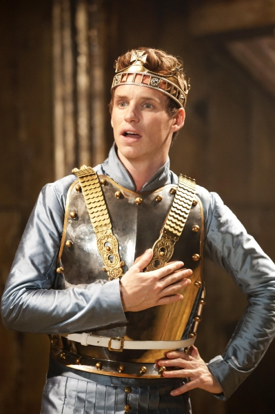 Eddie Redmayne  at First Look at Eddie Redmayne in Donmar Warehouse's RICHARD II