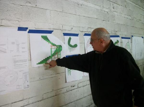 Photo Flash: The Making of REBECCA- Scenic Development