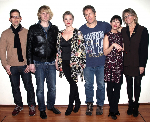 Director Alex Lippard, Jeffrey Carlson, Angelica Page, Laurence Lau, Jan-Leslie Hardi Photo
