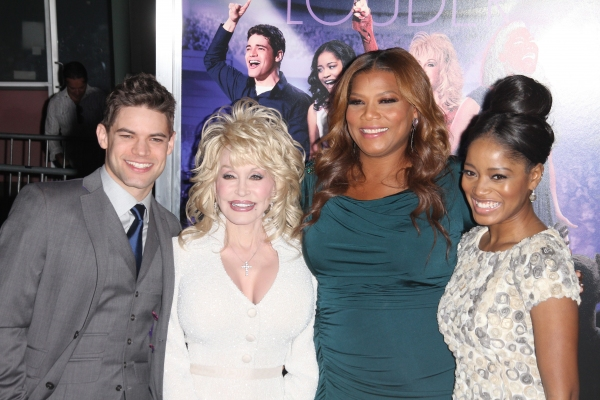Photo Flash: Jeremy Jordan, Dolly Parton, et al. at the JOYFUL NOISE Premiere!