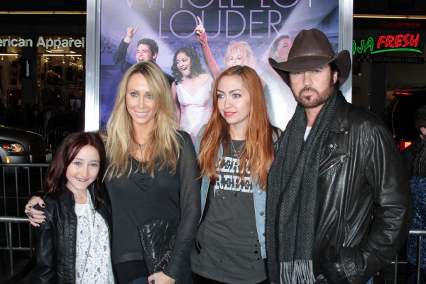 Mandatory Credit: Photo by Jim Smeal / BEImages (894458u)Billy Ray Cyrus and Family'Joyful Noise' film premiere, Los Angeles, America - 09 Jan 2012 at Jeremy Jordan, Dolly Parton, et al. at the JOYFUL NOISE Premiere!