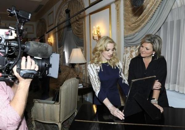 Cynthia McFadden & Madonna