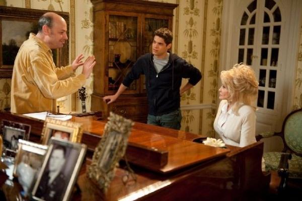 Todd Graff, Jeremy Jordan, Dolly Parton at First Look at Jeremy Jordan, Queen Latifah in JOYFUL NOISE