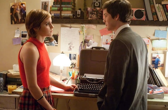Emma Watson & Logan Lerman at First Look - Emma Watson in THE PERKS OF BEING A WALLFLOWER