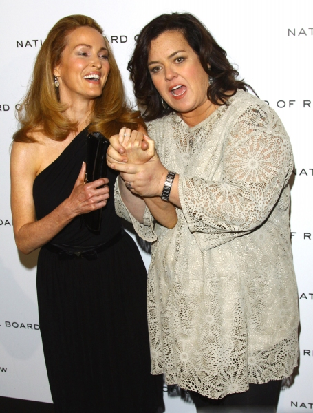 Michelle Rounds and Rosie O'Donnell