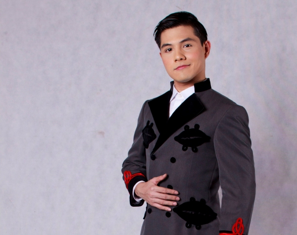 Fredison Lo as Rolf; photo c/o Resorts World Manila