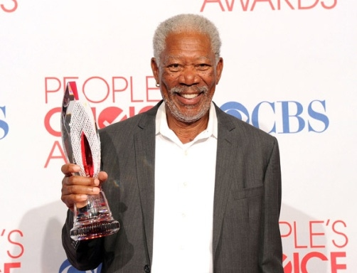 Morgan Freeman at Neil Patrick Harris Among Winners of 38th Annual PEOPLE'S CHOICE AWARDS