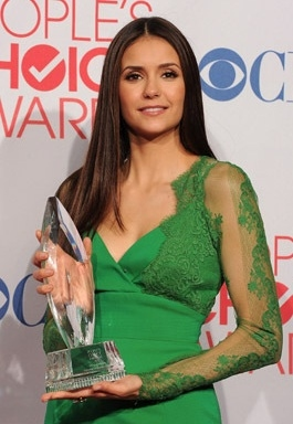 Nina Dobrev at Neil Patrick Harris Among Winners of 38th Annual PEOPLE'S CHOICE AWARDS