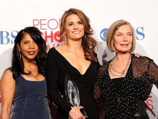 Penny Johnson, Stana Katic & Susan Sullivan