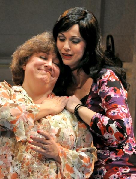 Jill Kelly and Rita Thomas